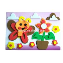 Educational toy, DIY EVA art, Kids Handcraft EVA Sticker Collage
