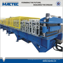 European standard high quality corrugated sheet double deck machine