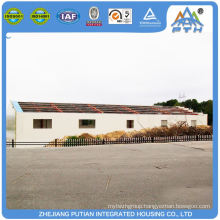 Various style popular design low cost prefab restaurant