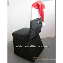 Christmas Pleated Spandex Chair Covers