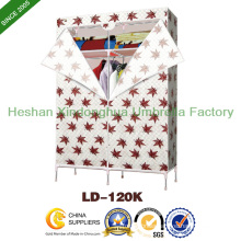 Customized Fabric Easy Canvas Storage Wardrobe (LD-120K-01)