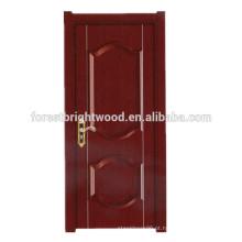 Design de porta de madeira moderna design simples porta melamina acabamento