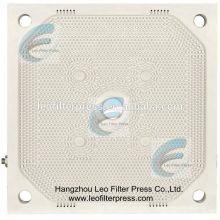 Filtro de deshidratación de lodo Presione la placa de filtro de membrana PP de alta presión de prensado