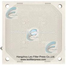 Sludge asséchant la pression élevée de presse de filtre pressant la plaque filtrante de membrane de pp