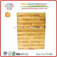 Bloque Jenga gigante de madera personalizado