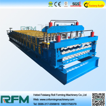 Double Layer Aluminum Roof Panel Forming Machine