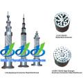 Cable trenzado de aluminio desnudo (ACC y ACSR)