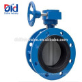 Gasket Vulcanized Viton Seat Stainless Steel Tomoe Lug Type Double Flanged Butterfly Valve 4 Inch