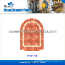 Customized Elevators Components / Parts, Observation Elevator PVC Floor
