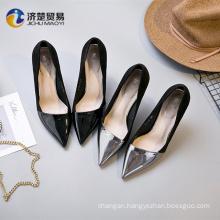 Street beat style Frigid 9cm wholesale glitter shoes