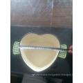 3.3 QT Enamel Heart-Shaped Cast Iron Casserole