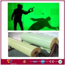 La Chine lueur imprimable de couleur faite sur commande d'alibaba dans la feuille de vinyle de bande réfléchissante foncée