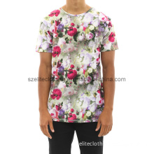 Best Sale Fashion Flowers Printed T-Shirts (ELTMTJ-339)