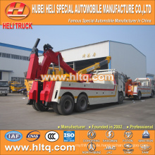 FAW 6X4 wrecker towing truck made in china zum verkauf