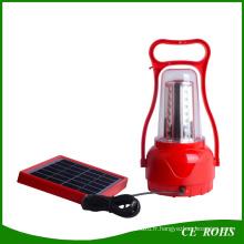 LED Camping solaire lanterne randonnée LED d'urgence lampe solaire Portable Rechargeable solaire Camping lumière