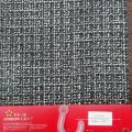 Boucle de laine à carreaux avec fil flammé