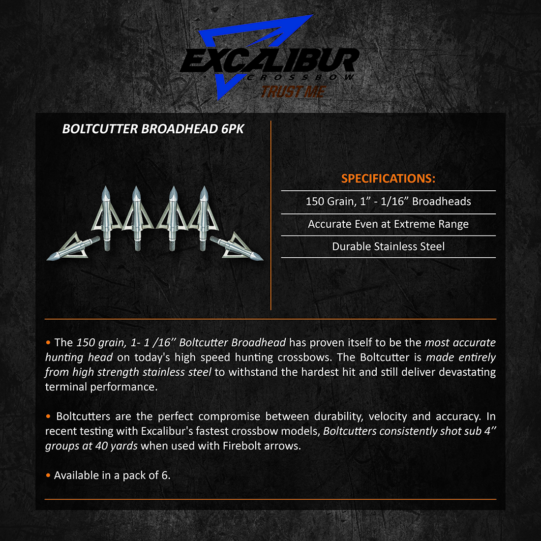 Excalibur_BoltCutter_Broadhead_6pk_Product_Description