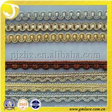 Kleine Vorhang Fransen Polyester Garn Fransen Gimp Trimmen