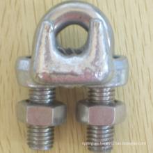 Hardware del aparejo una abrazadera de alambre maleable tipo Galv