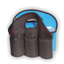 Neoprene 6 Pack Can Cooler Bag, Beer Tote Bag (BC0070)