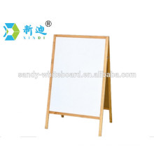Factory direct wooden whiteboard with stand