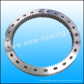 New product slewing bearing inner gear ring scoop hole
