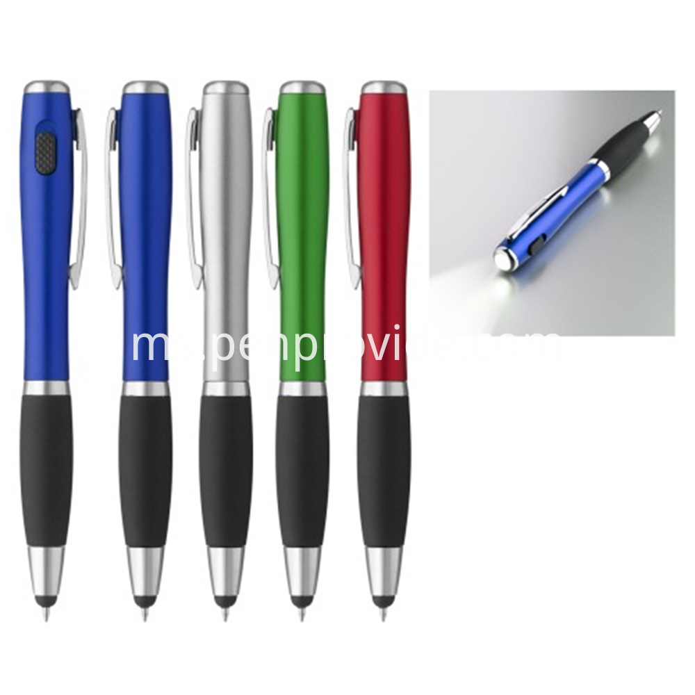 Curcaceous Stylus Ballpoint With Light