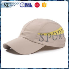 Hot selling originality custom colorful feather light sport cap for wholesale