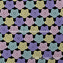 Colorful Chemical Lace Fabric