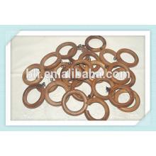 Vintage Wood Curtain Drapery Rings