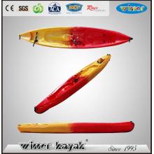 2 adultos + 2 niños Gran sala sentarse en la parte superior de plástico kayak