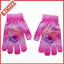 Fashion Winter Warm Digital Printing Glove