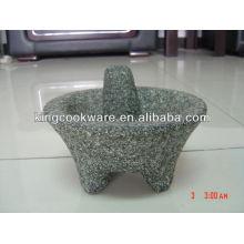 Molcajete de granit mexicain authentique