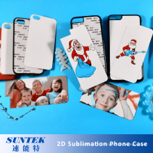 Сублимации пустые Пластиковые Чехлы телефонов, используя для тепла пресс-машина