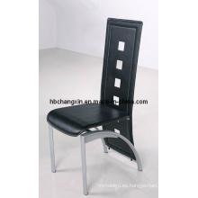 Cuero de la PU cenando la silla (CX-Y-23)
