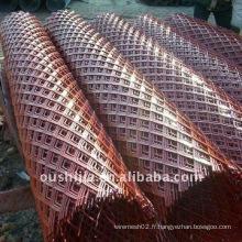 Le filet en métal déployé en acier à bas prix (de l'usine)