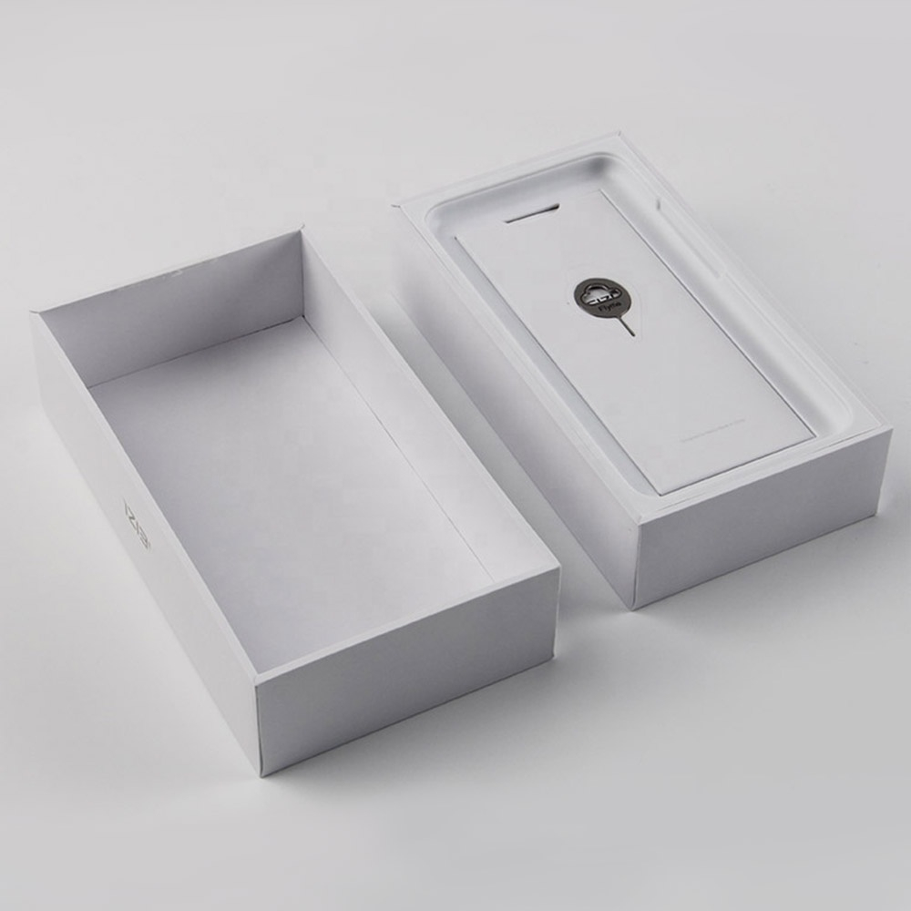 Rigid Mobile Phone Packaging Paper Gift Box