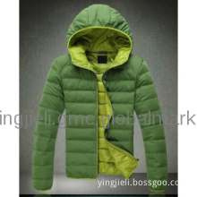 Man hooded jacket America keep warm jacket