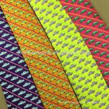 Perfect Knot 100% Handmade Printed Wholesale Mens Neck Tie in Silk