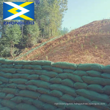mountain steep slope erosion control geotextile long bag for sand geo container geobag for landslide protection