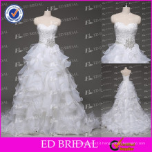 High Quality China Factory Custom Made Ball Gown Wedding Dress Real Sample Photos