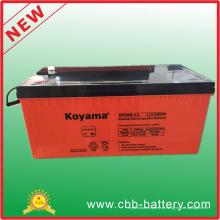 Bateria acidificada ao chumbo de 12V 200ah AGM para telecomunicações, armazenamento