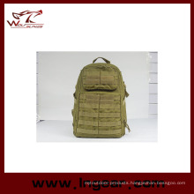 Nylon Outdoor Sport Military Waterproof School Backpack Fashion Bag 023# Tan