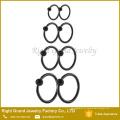 Anéis de nariz de touro personalizado de cativeiro de anel de aço inoxidável de encerramento de bola