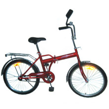 "Bicicleta plegable de marco de acero de 24 ""(FM24)"