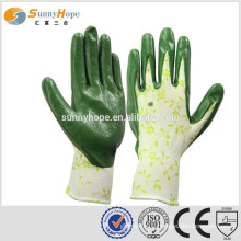 sunnyhope very safety Breathable working garden gloves