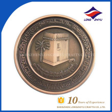 2017 barato Artesanato moedas de ouro falsas Moedas de token personalizadas impressas