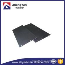2000 X 1000 mm X 8 mm GR.17. Plaque de titanum Ti
