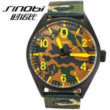 Высококачественные кварцевые зелёные спортивные часы Men japan movt