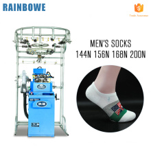 2017 sells well easy operate Feijian needles automatic touch screen plain sock machine price